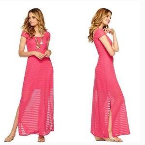 Lilly Pulitzer Pink Ramsay Maxi Dress